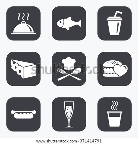 food  drink icons alcohol