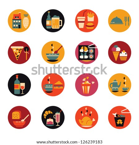 Food &Amp; Drinks Icons