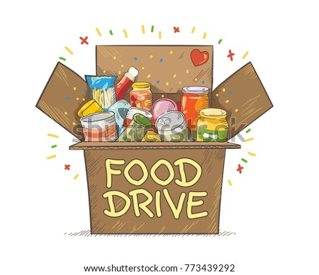 food drive charity movement
