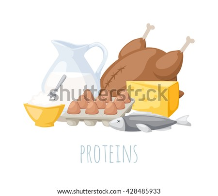 food high in protein isolated