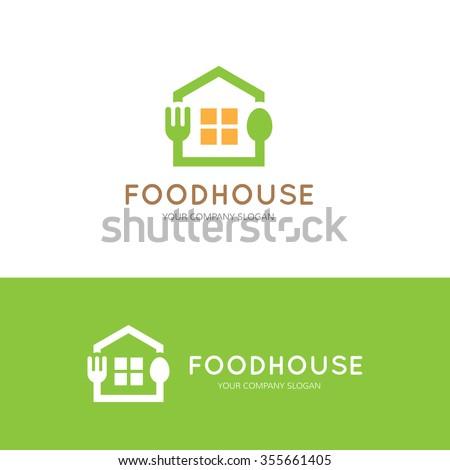 food house  restaurant logo...