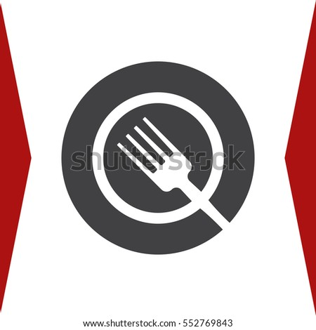 Food Icon Vector flat design style