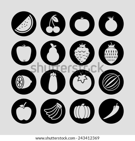 food icons #243412369