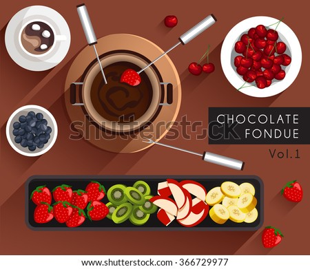 food illustration   chocolate