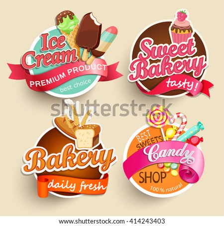 food label or sticker   bakery