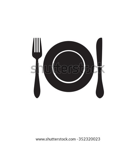 Food, meal, menu, lunch icon