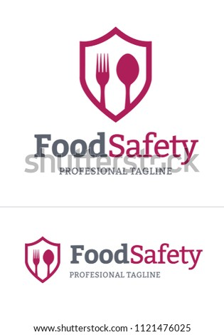 Food Safety Logo in vector format.