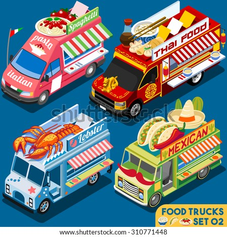 food truck collection food