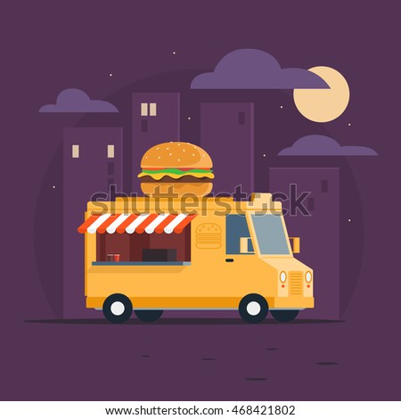 food truck fast food delivery
