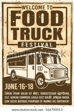 food truck festival advertising ...