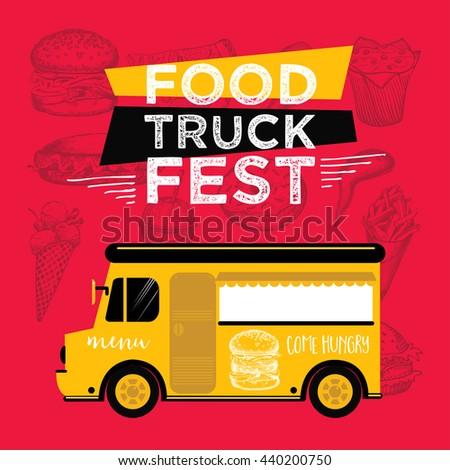 food truck festival menu food