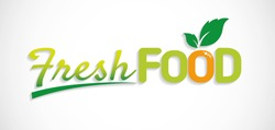 food vector visual graphic, ideal for fresh food icon. Vector perfect illustration color.