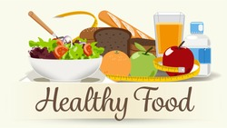 Foods that help health-care. Diet for life.