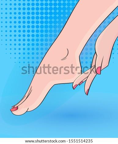 foot care gently massagepop