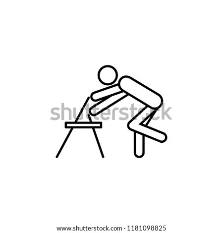 Foot training apparatus icon. Element of medicine physiotherapy of legs icon for mobile concept and web apps. Thin line Foot training apparatus icon can be used for web and mobile