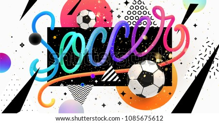 soccer sports flyer poster vector design template download free