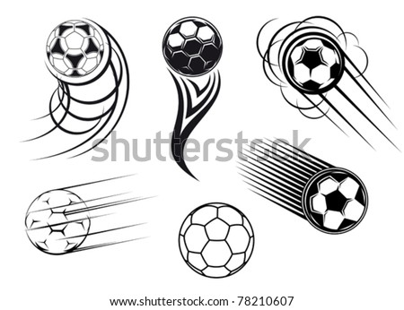 football and soccer symbols