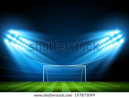 football arena vector