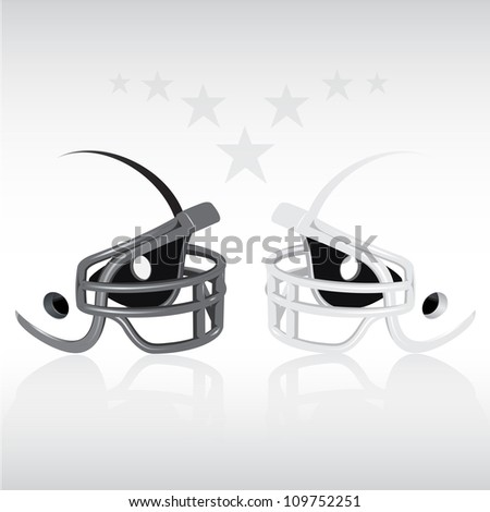 Football Background (Abstract football background with copy space)