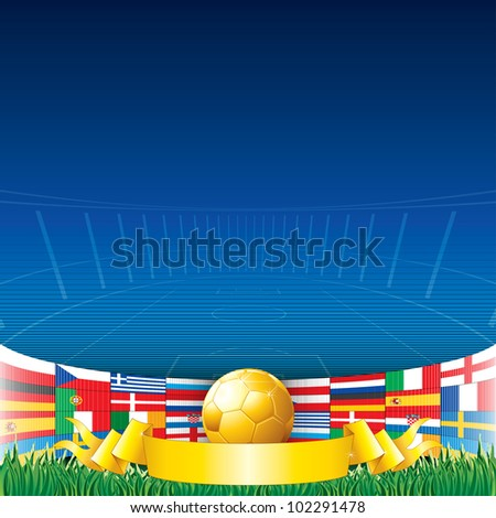football background euro 2012