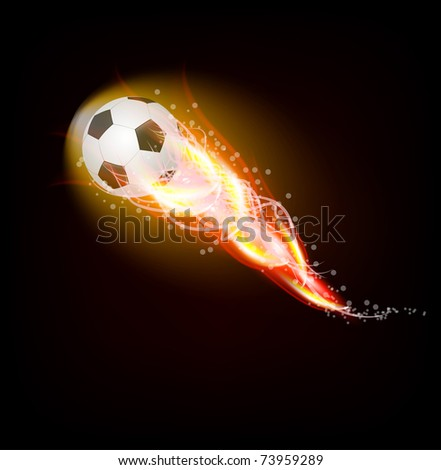 football ball drawing. stock vector : Football ball
