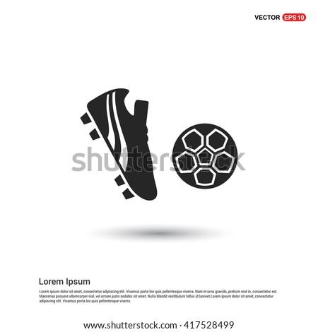 Football boot icon
