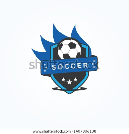 football club logo template in