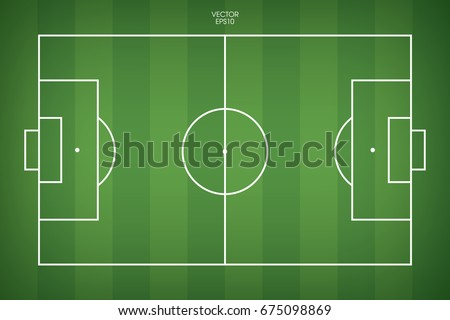 free soccer field vector - download free vector art, stock