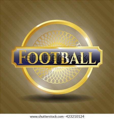 Football gold badge