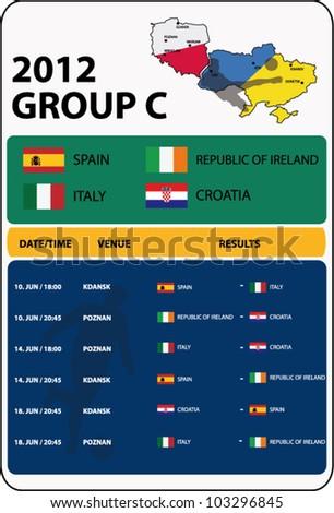 football Group C / Poland, Ukraine/2012