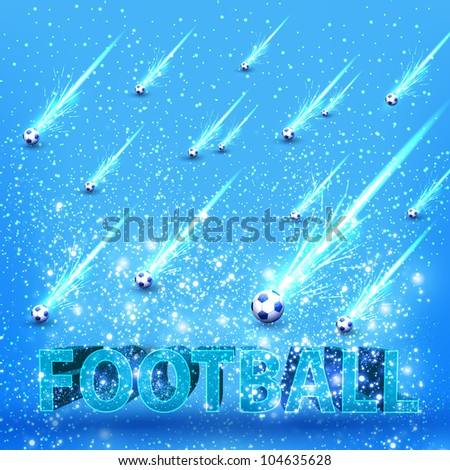 football grunge light stage card, you can easy editable