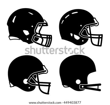 football helmet sport icon