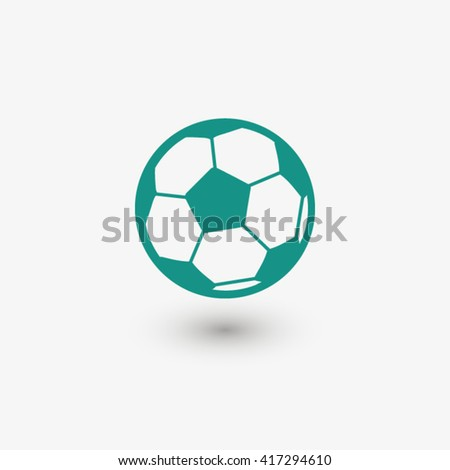 Shutterstock Football icon. One of set web icons