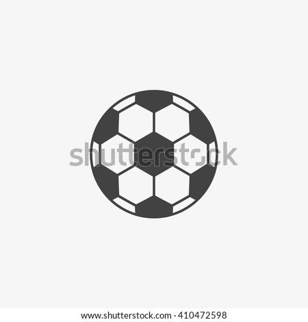 football icon vector  football