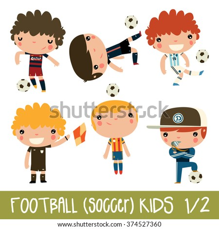 football kids children sports