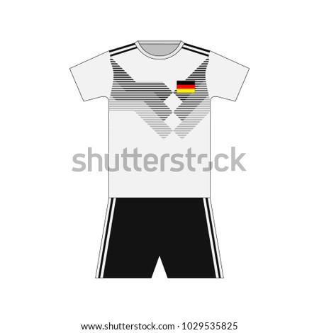 Football kit. germany 2018
