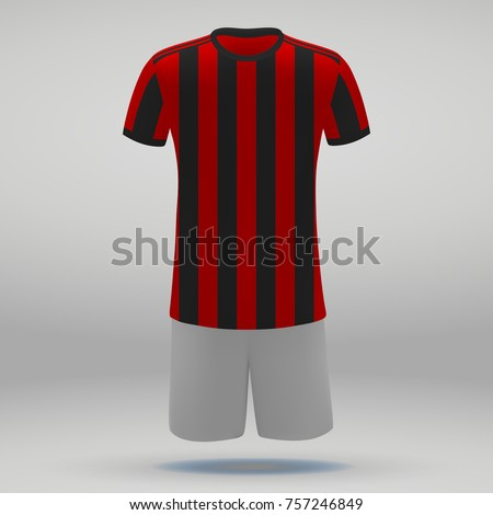 football kit of ac milan  t