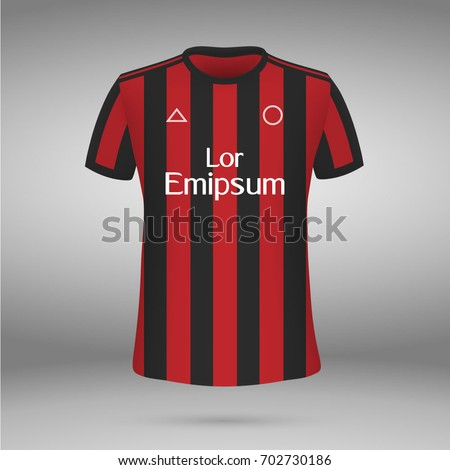 football kit of ac milan 2017