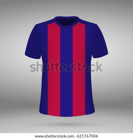 football kit of barcelona  t
