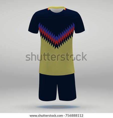 football kit of club america  t