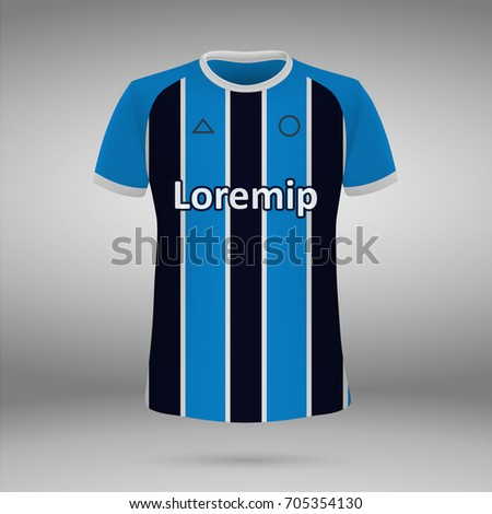 football kit of gremio 2017