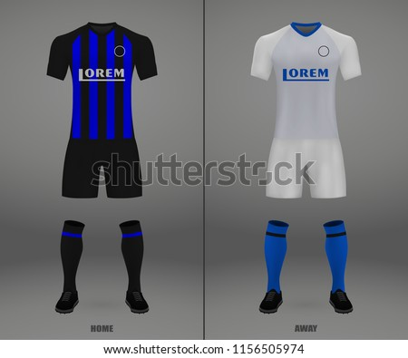 football kit of inter 2018 19