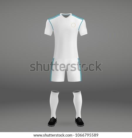 football kit of real madrid  t