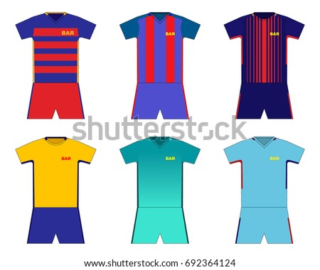 football kit set barcelona