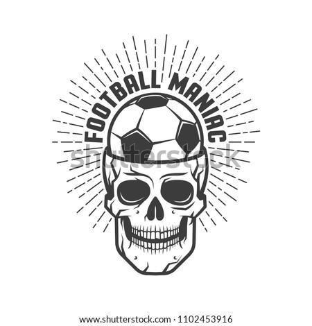 football maniac illustration