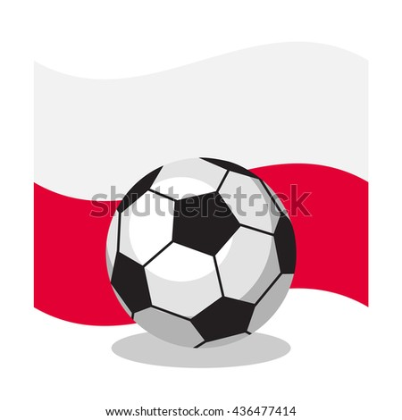 football or soccer ball with