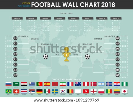 football or soccer cup wall