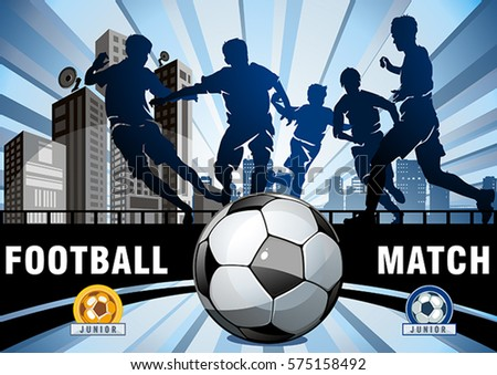 football or soccer vector