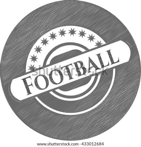 Football penciled