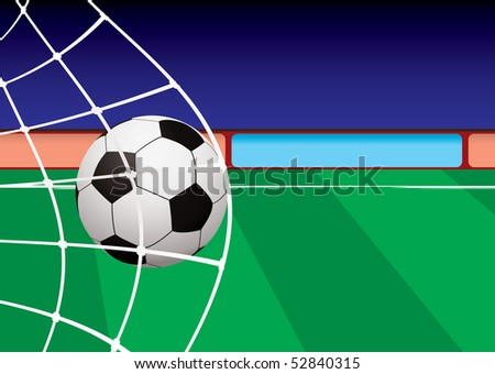 Football Pitch Grass. stock vector : Football pitch